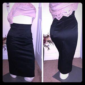 White House Black Market Pencil Skirt Sz 4